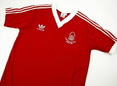 NOTTINGHAM FOREST EUROPEAN CUP FINAL 1980
