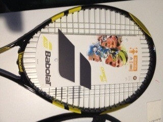 Racchetta Tennis RAFAEL NADAL Autografata  Signed NADAL   with COA certificate of authenticity