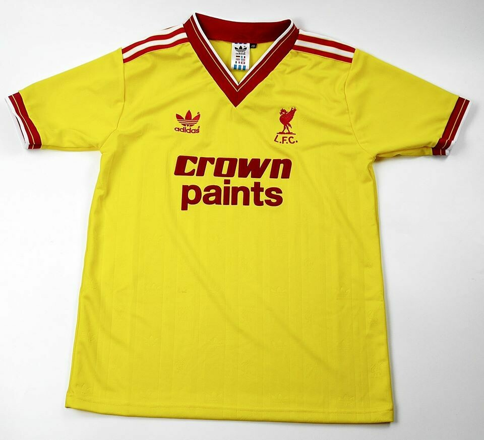 LIVERPOOL AWAY 3RD 1985-1986