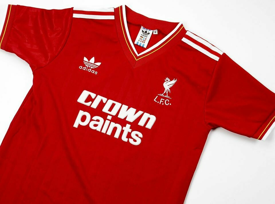 LIVERPOOL HOME 1985-1986 RETRO FOOTBALL SHIRT MAGLIA CASA
