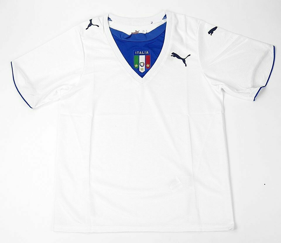 ITALY MAGLIA TRASFERTA WORLD CUP 2006 JERSEY AWAY 06 MONDIALI