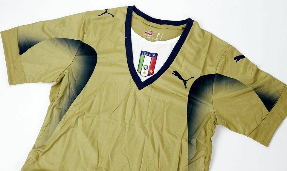 ITALY GOALKEPPER  WORLD CUP 2006 ITALIA MAGLIA PORTIERE 2006 MONDIALI