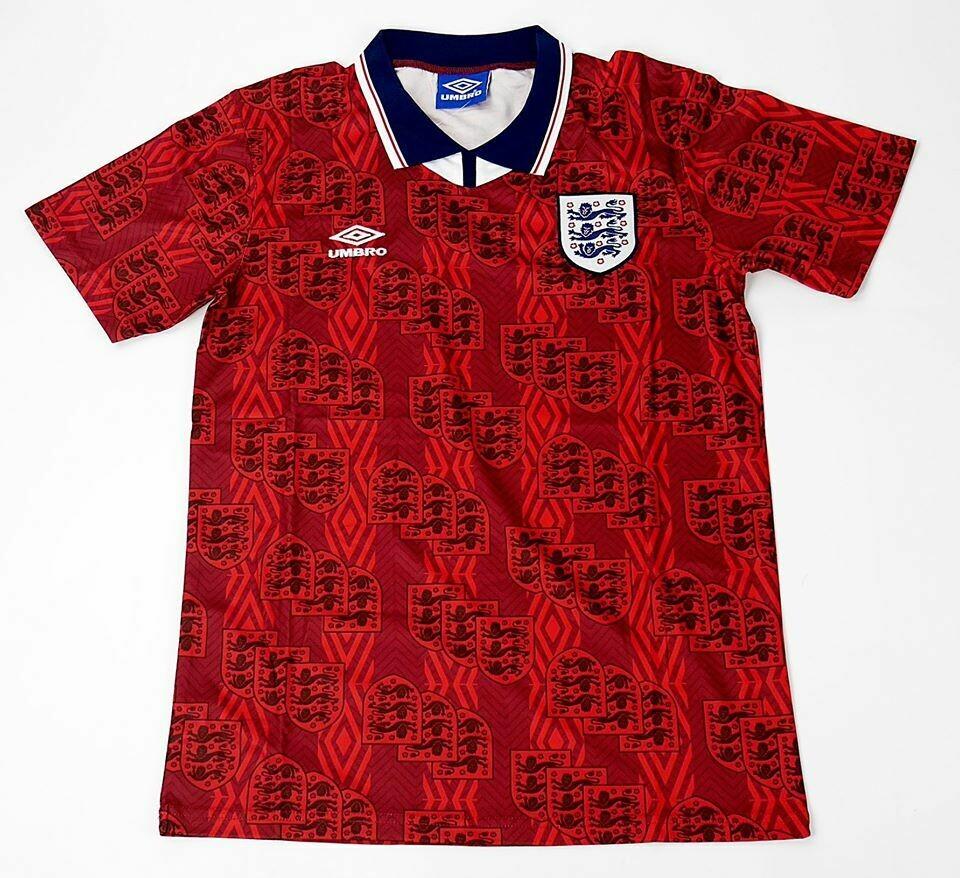 ENGLAND AWAY  WORLD CUP 1994 MAGLIA TRASFERTA 94