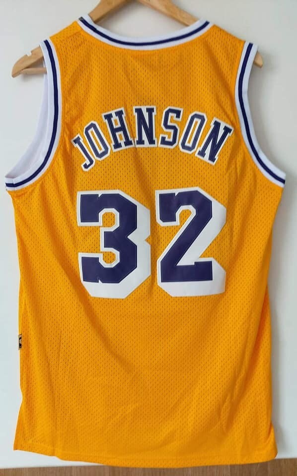 LAKERS LOS ANGELES MAGLIA LAKERS 32 MAGIC JOHNSON
