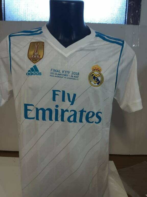 REAL MADRID FINALE CHAMPIONS NO NAME NO NUMBER TAGLIA S SIZE S