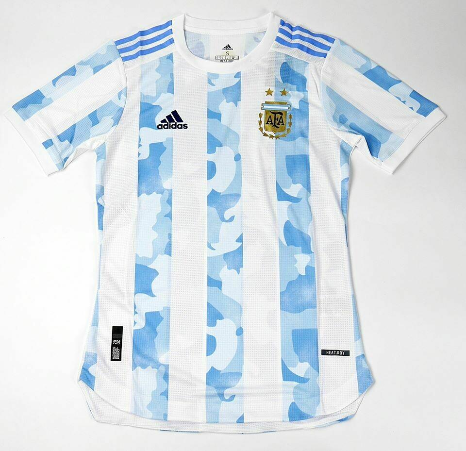 ARGENTINA HOME PLAYER VERSION 2020-2021 MAGLIA CASA 20 21 ARGENTINA