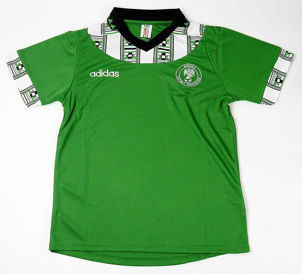 NIGERIA HOME WC 1994 NIGERIA WORLD 94 MAGLIA CASA