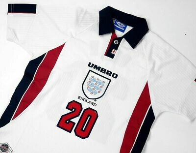 ENGLAND HOME WC 1998 WORLD CUP 1998 INGHILTERRA