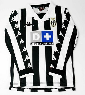 JUVENTUS HOME 1999-2000 LONG SLEEVED MAGLIA CASA 99 00