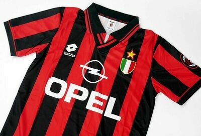AC MILAN HOME 1996-1997 MAGLIA CASA 96 97