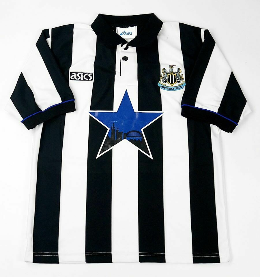 NEWCASTLE HOME 1993-1994 MAGLIA CASA 93 94 NEWCASTLE