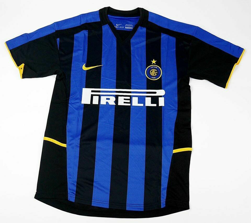 INTER  HOME 2002-2003 MAGLIA CASA 2002 2003 INTER