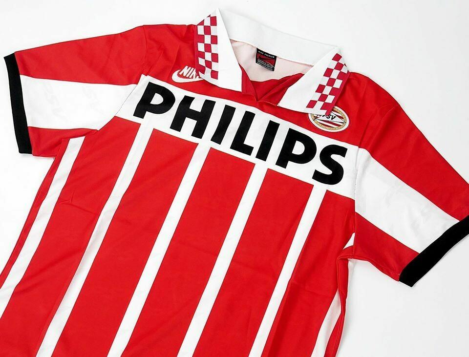 PSV EINDHOVEN HOME 1995-1996 RONALDO R9 MAGLIA CASA RONALDO PSV