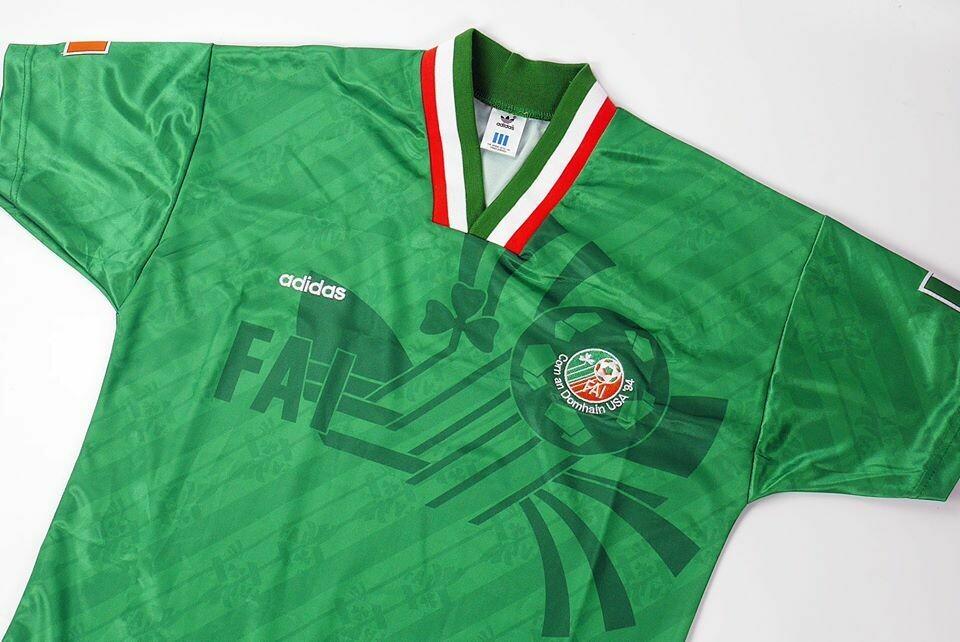 IRELAND HOME WC 1994 IRLANDA WORD CUP 1994 MONDIALI MAGLIA CASA 1994