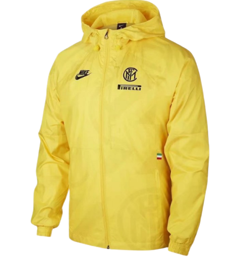 INTER 2020 2021 Wind Coat - Yellow  INTER 2020 2021 Jacket