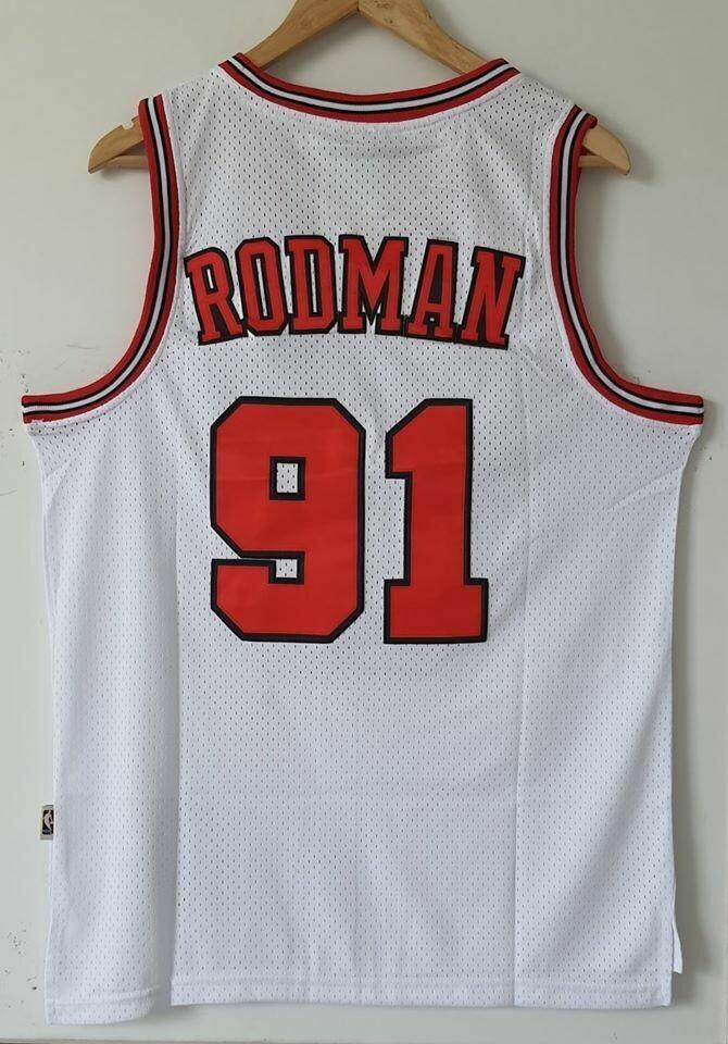 CHICAGO BULLS Dennis Rodman 91  BASKETBALL NBA MJ23