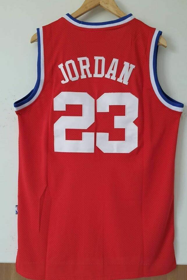 MICHALE JORDAN 23 ALL STAR NBA  Jersey Maglia BASKETBALL NBA