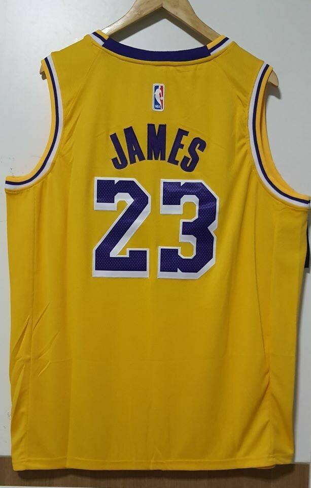LE BRON JAMES LOS ANGELES LAKERS NBA  Jersey Maglia BASKETBALL NBA