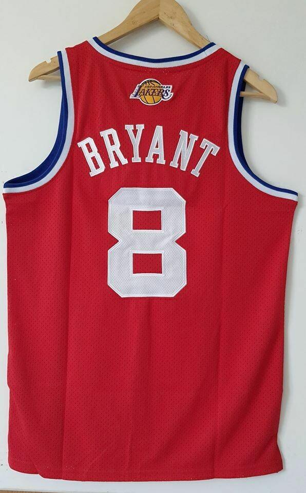 KOBE BRYANT 8  ALL STARS NBA  Jersey Maglia BASKETBALL NBA