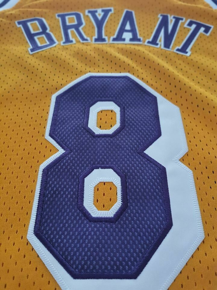 KOBE BRYANT 8  LOS ANGELES LAKERS  Jersey Maglia BASKETBALL NBA