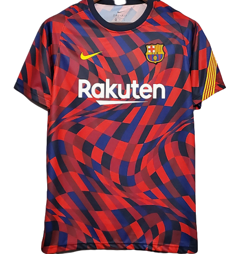 BARCELONA T SHIRT ALLENAMENTO TRAINING JERSEY 2020 2021