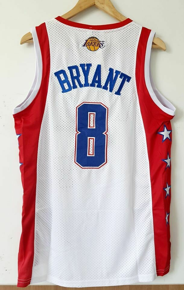 KOBE BRYANT 8  ALL STARS NBA  Jersey Maglia BASKETBALL NBA