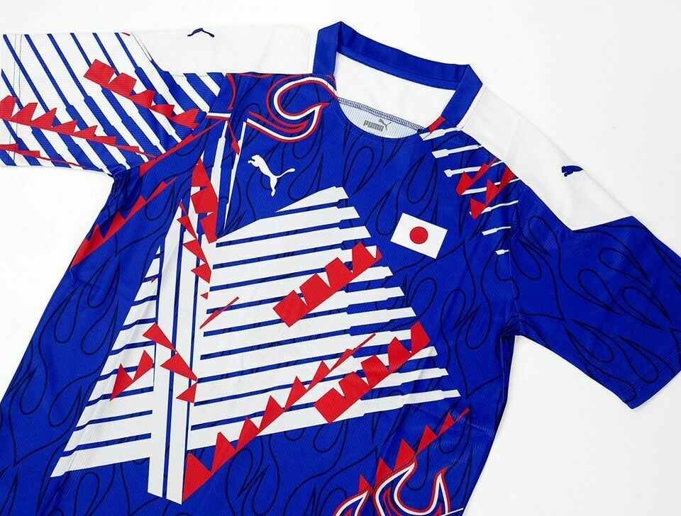 MAGLIA CASA GIAPPONE JAPAN HOME JERSEY 1994 1998 Spectacular x King Kazu (52-Year-Old Pro Player) Japan 94/98