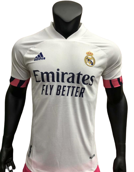 REAL MADRID HOME PLAYER VERSION 2020 2021 MAGLIA CASA