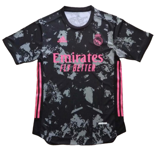 REAL MADRID JERSEY AWAY PLAYER VERSION 2020 2021 MAGLIA TRASFERTA PLAYER VERSION