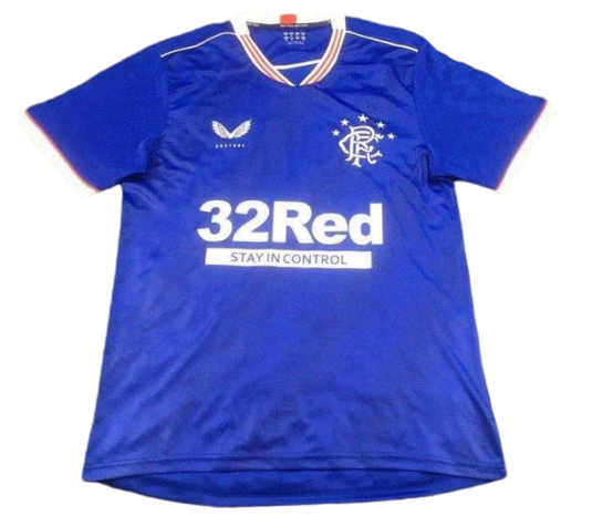 RANGERS JERSEY HOME 2020 2021 GLASCOW RANGERS 2020 2021