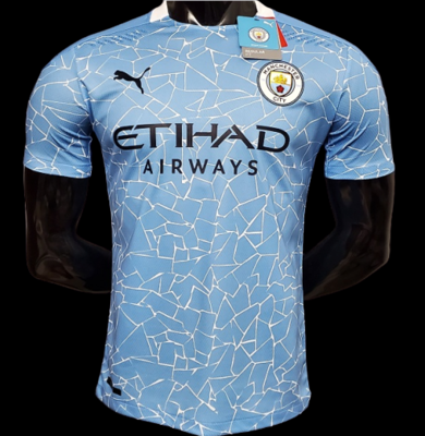 MAN CITY HOME  2020 2021 MANCHESTER CITY CASA 2020 2021 PLAYER VERSION VERSIONE PLAYER
