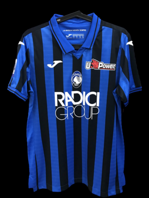 ATALANTA  MODEL LIKE  MATCH WORN PLAYER VERSION MATCH ISSUE PATCH SERIE A 2019 2020  PATCH SERIE A/CHAMPIONS