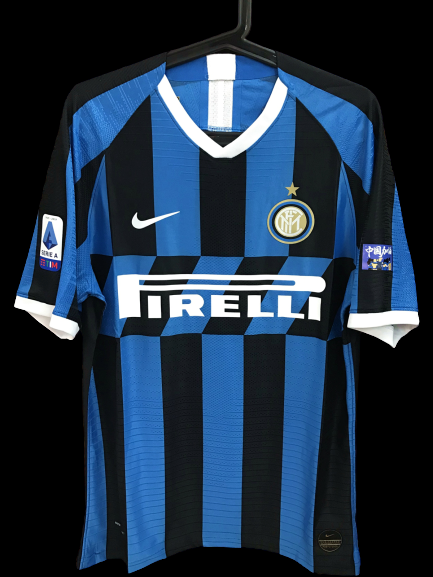 INTER MAGLIA CASA 2019 2020  MODEL LIKE  MATCH WORN PLAYER VERSION MATCH ISSUE PATCH SERIE A