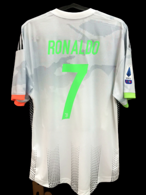 JUVENTUS 2019 2020 PALACE  MODEL LIKE  MATCH WORN PLAYER VERSION MATCH ISSUE PALACE CRISTIANO RONALDO 7 CR7