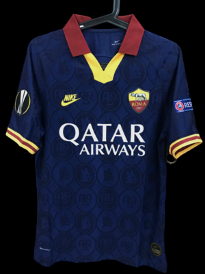 ROMA MODEL LIKE  MATCH WORN PLAYER VERSION MATCH ISSUE PATCH SERIE A 2019 2020  PATCH SERIE A/EUROPA LEAGUE
