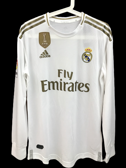 REAL MADRID  MODEL LIKE  MATCH WORN PLAYER VERSION MATCH ISSUE PATCH LIGA/CHAMPIONS LEAGUE 2019 2020