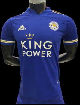 LEICESTER HOME 2020 2021  MAGLIA CASA 2020 2021 LEICESTER VERSIONE PLAYER VERSION PLAYER