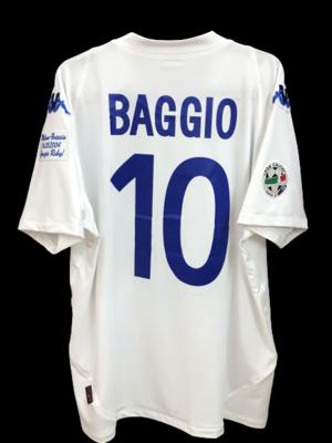 BRESCIA LAST MATCH BAGGIO 10 MAGLIA TRASFERTA ULTIMO MATCH LAST DAY ROBERTO BAGGIO DIVIN CODINO