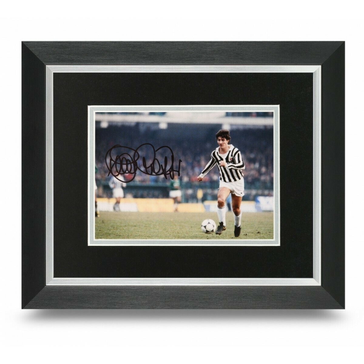 Paolo Rossi PHOTO framed Paolo Rossi  10*8   AUTOGRAFATA  CORNICE SIGNED AUTOGRAPH SIGNED Paolo Rossi PHOTO FRAMED  SIGNED JUVENTUS