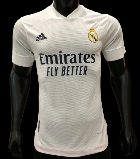 REAL MADRID HOME JERSEY 2020 2021 MAGLIA CASA VERSION PLAYER VERSIONE PLAYER