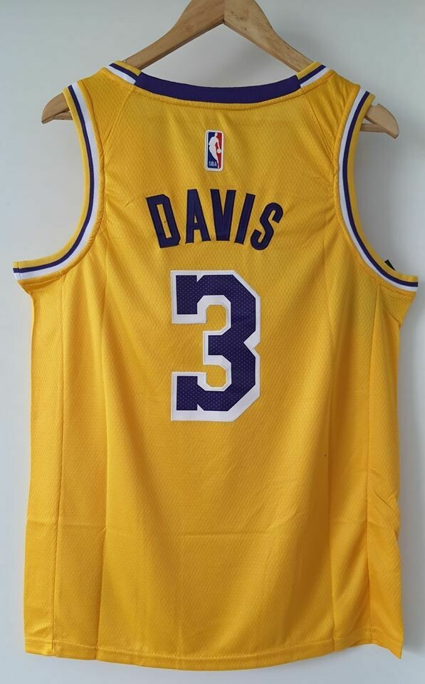 LAKERS LOS ANGELES MAGLIA LAKERS ANTHONY DAVIS 3