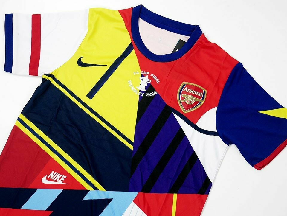 ARSENAL MIX COLLABORATION WITH NIKE JERSEY SPECIAL