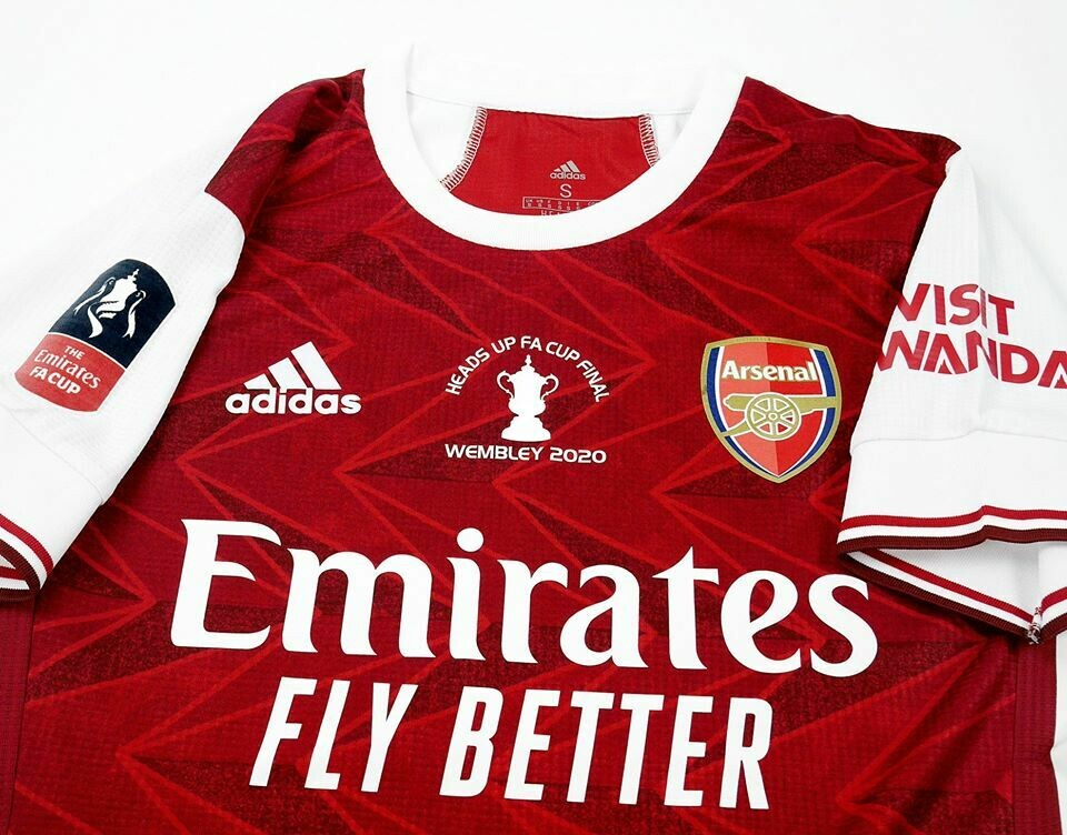 ARSENAL FINAL FA CUP 2020 JERSEY HOME FINAL  2020