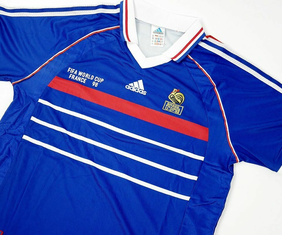 FRANCIA  MAGLIA CASA FINALE  WORLD CUP  1998 JERSEY FINAL WORLD CUP 98
