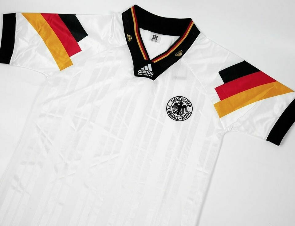 GERMANY HOME EURO 1992 GERMANIA EUROPEI MAGLIA CASA