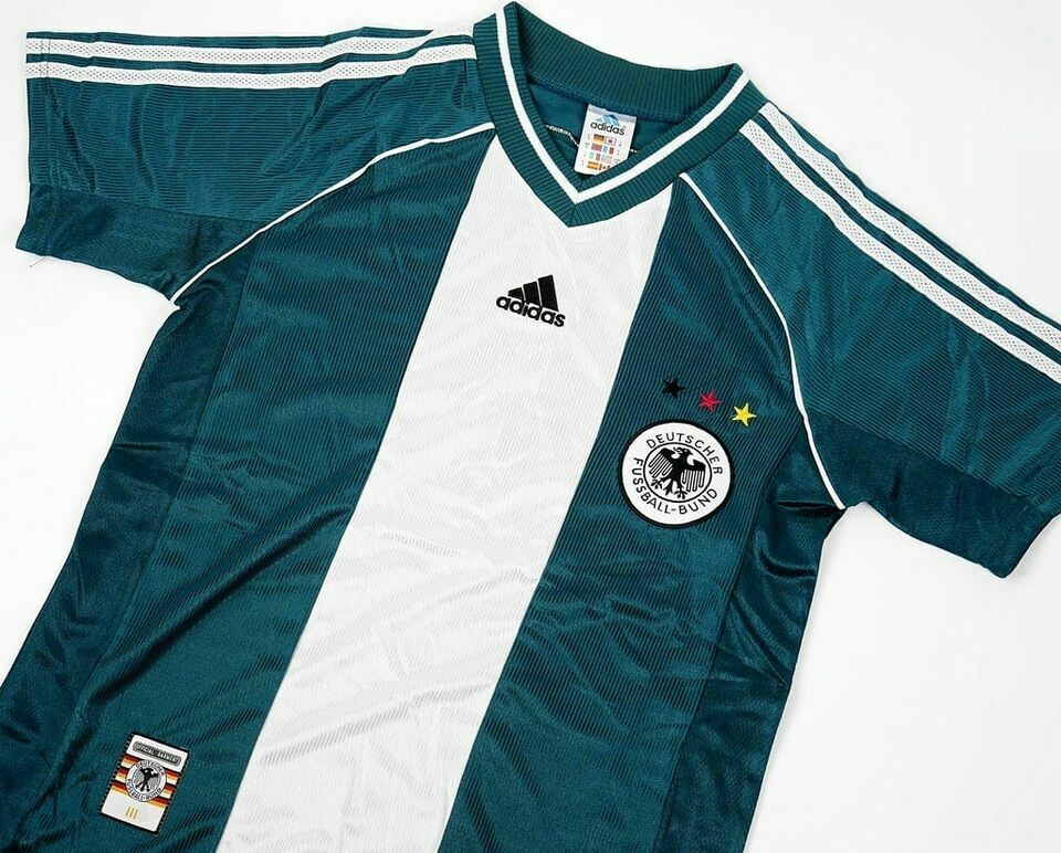 GERMANY AWAY WC 1998 GERMANIA WORLD CUP 98