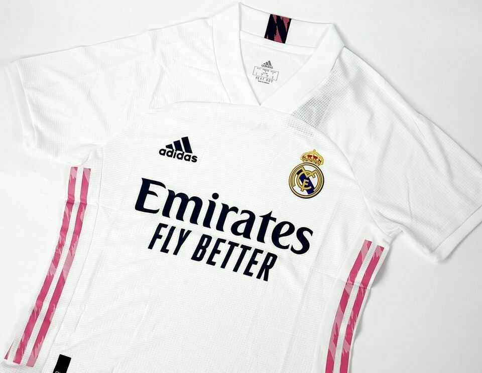 REAL MADRID HOME 2020 2021  MAGLIA CASA 20 21 REAL MADRID PLAYER VERSION