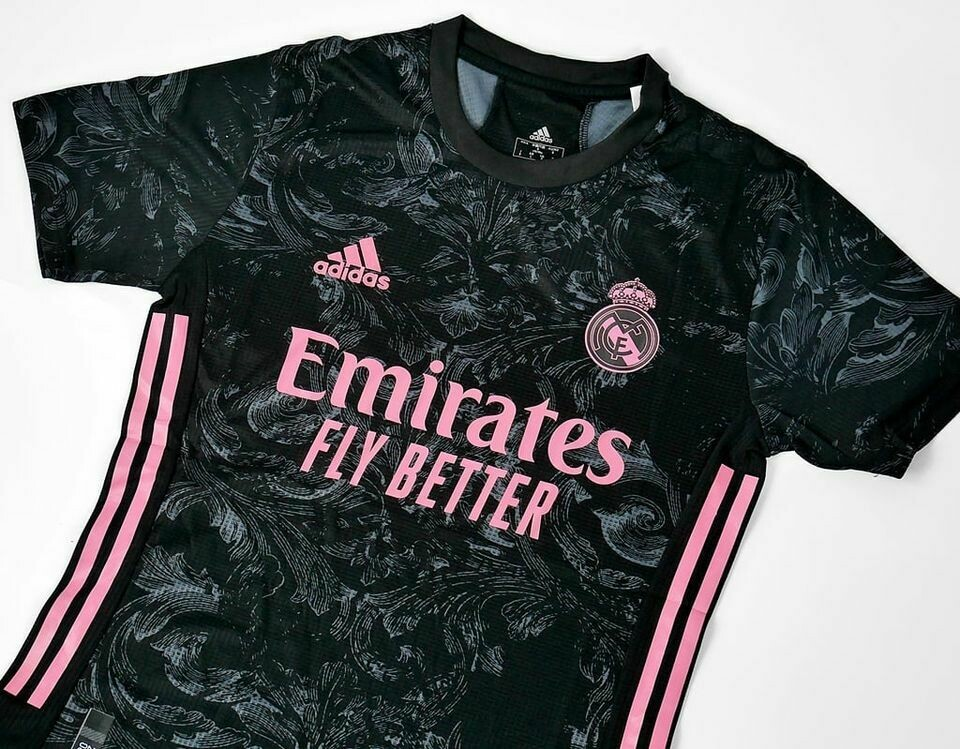 REAL MADRID AWAY 3RD PLAYER VERSION 2020 2021 MAGLIA TRASFERTA PLAYER VERSION