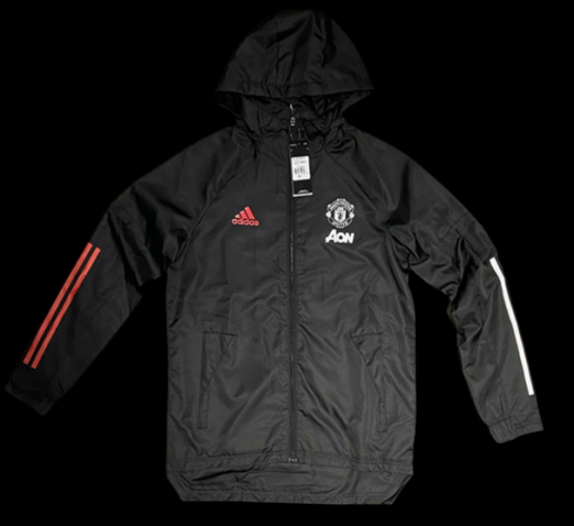 MANCHESTER UNITED  GIACCA WIND COAT 2020 2021 MAN UTD