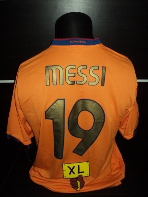 Nr 1 Barcelona 2006 2007 Lionel Messi 19 Taglia XL Size XL
